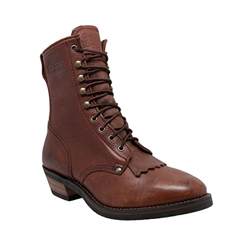 Adtec Footwear Mens 9 inch Packer Chestnut 9-M, used for sale  Delivered anywhere in USA