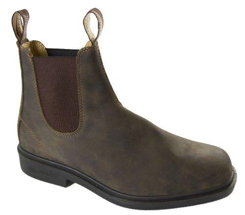 Blundstone Mens 1306 Rust Brown Dress Boot - 9 (Blundstone Dress Boot)