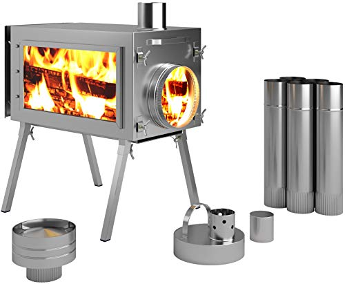 Russian-Bear Camping Stoves for Tents