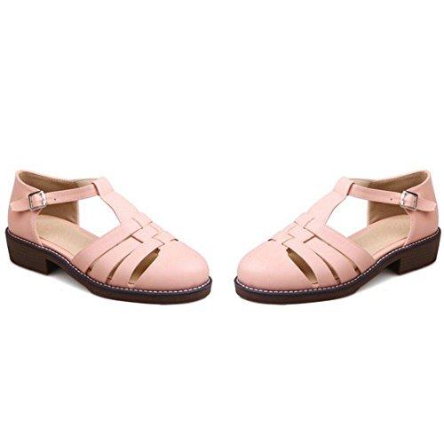 T Flat Zanpa 1 Strap Playa Madchen Pink Sandalias gwWO1RTq