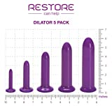 New!!! BPA-Free Restore Can Help Dilator 5-Pack in