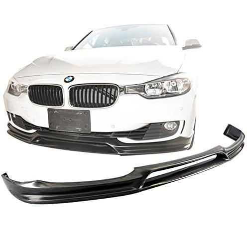 12-14 BMW F30 3-Series 328I 335I Sedan 3D Style Urethane Front Bumper Lip Spoiler (Style Front Bumper Lip)