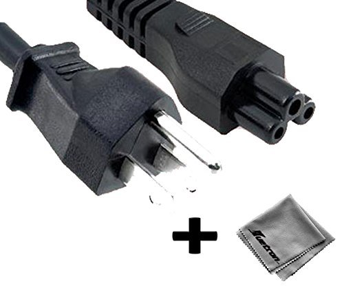 6 ft AC Power Cord for Gateway FPD1775W LCD monitor ()