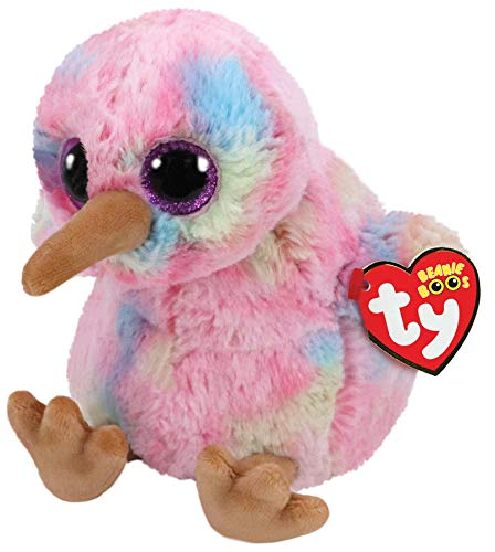 Ty Beanie Babies 36213 Boos Kiwi the Pink Bird Boo (Red Breasted Robin)