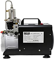DAVV SCU30 High Pressure Air Compressor for Paintball PCP Airgun Rifle Scuba Tank Filling, 110v, Up to 4500 ps