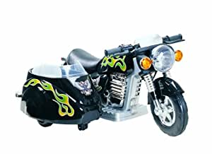 New Star Super Motorcycle with Side Car in Black