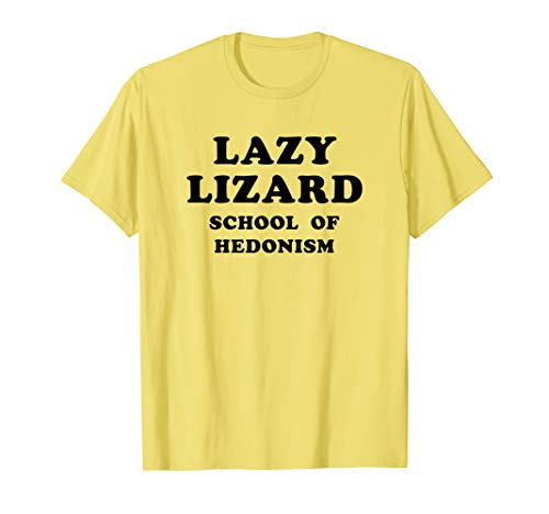 Lazy Lizard School Of Hedonism Shirt Retro Acid, LSD Trip