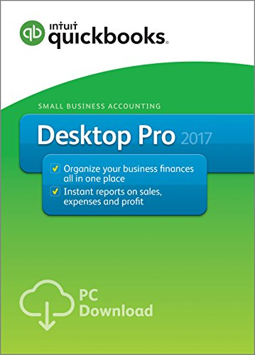 QuickBooks Desktop Pro 2017 Small Business Accounting Software [PC Download]