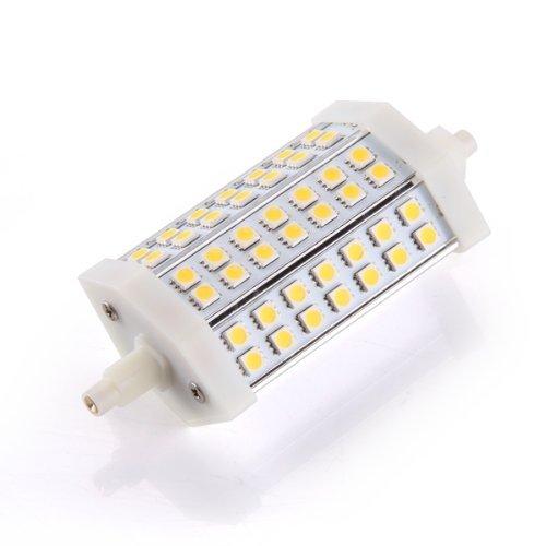 SODIAL(R) R7s J118 42 SMD LED Warm White Light Lamp Bulb 10W 118mm