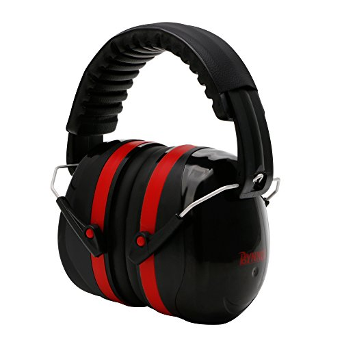 SCASTOE Noise Reduction Safety Earmuffs, SNR 35dB Shooting Hunting Ear Muffs, Adjustable Folding Ear Defender, Professional Hearing Protection Headphone for Shooting Range, Fits Adults to Kid ()