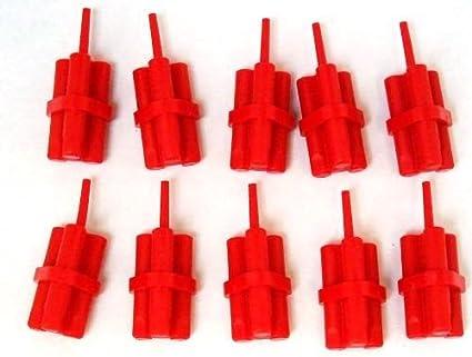 Utensil Dynamite Sticks Bundle Lego Lot of 5 Red Minifig