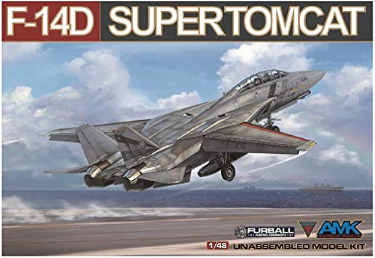 [해외] 아방가르드 모델 1/48 미국 해군 F-14D 슈퍼 톰 캣 프라모델  AGM88007