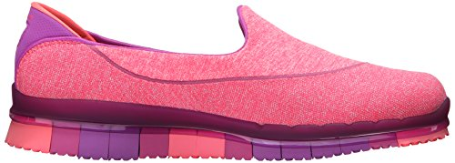 Skechers Performance Womens Go Flex Slip-on Scarpa Da Passeggio Viola