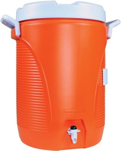 1cb8acdab4 RHP1840999 - Insulated Water Cooler, 5 Gal, Orange, 10quot;dia X 19