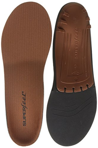 (Superfeet COPPER, Memory Foam Comfort plus Support Anti-fatigue Replacement Insoles, Unisex, Copper, X-Small/B: 4.5-6 Wmns/2.5-4)