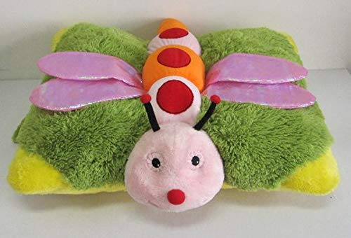 """Dragonfly Zoopurr Pets 19"""" Large, 2-in-1 Stuffed Animal and Pillow, Premium Soft Plush Toy   Great Present for Toddlers, Kids and Adults"""