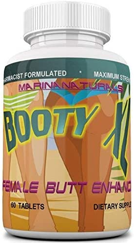 Booty XL Best Female Butt Enhancement & Enlargement Pills, Get a Firm, Fuller & Sexy Buttocks, Butt Enhancer