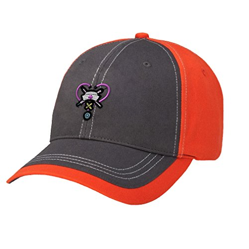 Speedy Pros Hospital Clinic Nurse Tools Embroidery Contrast Front Cap - Charcoal/Orange