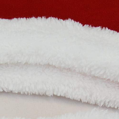 OZYOL Baby Weihnachtsmann Kost/üm 3-teiliges Set mit Weihnachts-M/ütze Mantel und Hose Nikolaus Anzug Weihnachten f/ür M/ädchen und Jungen Kleinkinder 3-18 Monate