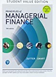 Principles of Managerial Finance, Student Value Edition Plus MyLab Finance with Pearson eText - Access Card Package (15th Edition) (Pearson Series in Finance)