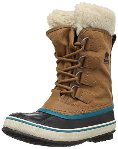 Sorel Women's Winter Carnival Snow Boot, Camel Brown, 8.5 M US ()