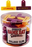 Game Day Outfitters 1936552 Lousiana State - Magnet College Clip Small 2 Assorted 24 DP - Case of 144