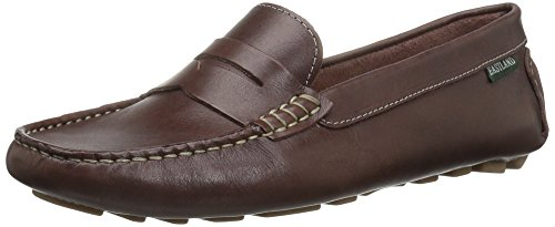 Eastland Women's Patricia Loafer,brown,10 Medium US Brown Woven Leather Loafer