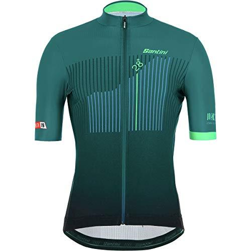 (Santini La Vuelta Los Machucos Short-Sleeve Jersey - Men's Print, L)