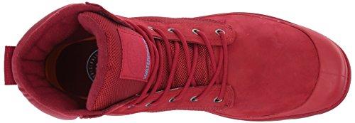 Palladium Mens Pampa Sport Manschetten Wpn Regn Boot Chevron / Rio Red