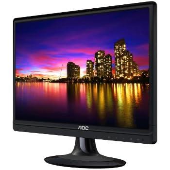 AOC E2220SWDN 22-Inch LED-Lit Monitor, Full HD 1080p, 5ms, 20M:1 DCR, VGA/DVI, VESA