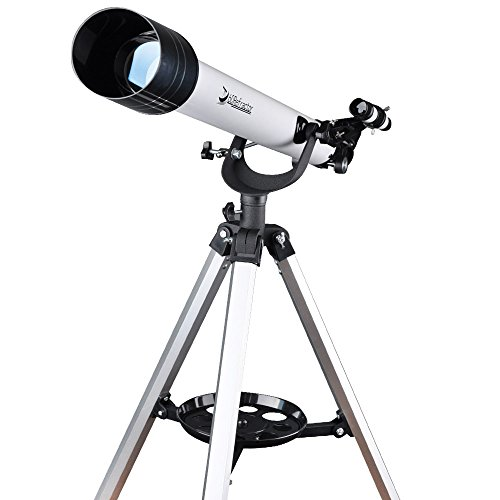 Landove Telescope,60AZ 700mm Travel Scope-Portable Telescope for Beginners and Kids to Observe Moon and View Land-Come with Tripod and 10mm Smartphone Digiscoping Adapter by Landove (Image #1)