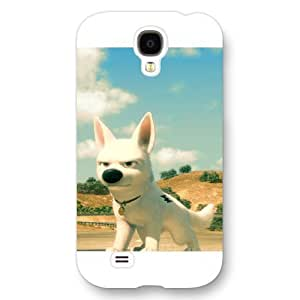 Customized White Frosted Disney Cartoon Movie Bolt Samsung Galaxy S4 Case
