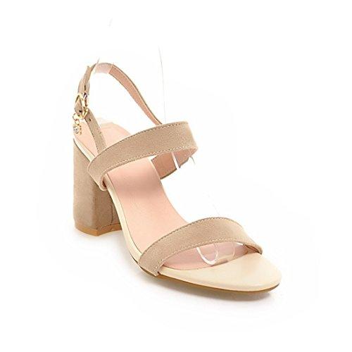 tacchi suo sandali trentaquattro i sandali sandali signore sandali agio dei rosa fibbie sandali e alti i a UyvycXa