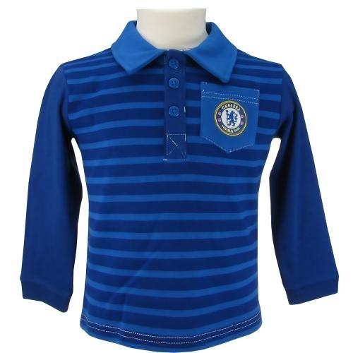 Polo Shirt - Chelsea F.C (LS 12/18 Months)