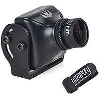 Crazepony RunCam Swift 2 600TVL FPV Camera 2.1mm Lens 165 Degree OSD WDR DC 5-36V NTSC Integrated MIC for Multicopter Black