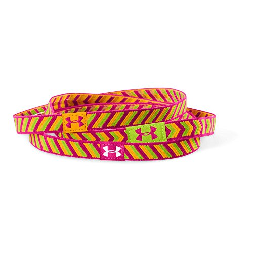 Price comparison product image Under Armour Big Girls' Ua Patterncraze Headband One Size Fits All Tropic Pink