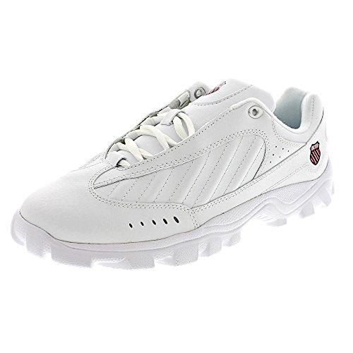 K-Swiss ST429 Women's Light Weight Athletic Shoe White 5 M US
