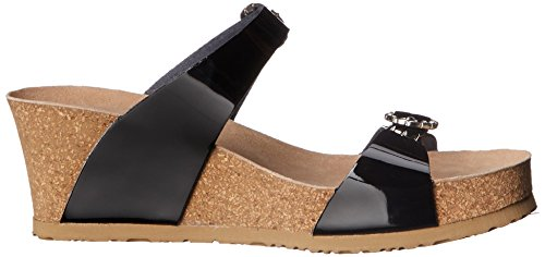 Mephisto Women's Lidia Platform Dress Sandal Black Patent clearance for nice clearance professional clearance online free shipping new top quality online QgFcLg