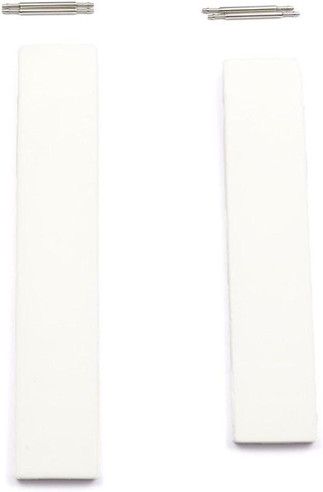 Correa silicona blanca Tissot T-Race mujer T610020665 modelos T011217A