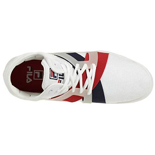 1bm00026125 17 Marina Scarpe Red Cage Navy Bianco Rosso The White Sportive Fila naqwpTZHw