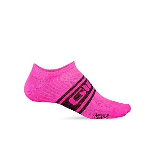 (Giro Classic Racer Low Sock Bright Pink/Black, L - Men's)