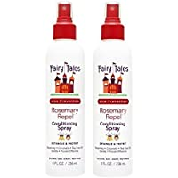 Fairy Tales Rosemary Repel Daily Kid Leave-In Conditioning Spray for Lice Prevention, 8 Fl. Oz (Pack of 2)