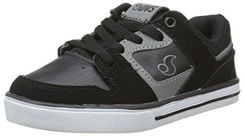 DVS APPAREL Everett Lo, Zapatillas de Skateboarding para Niños Negro - Noir (002)