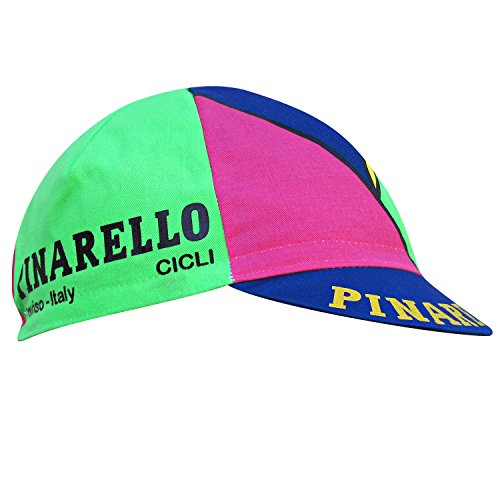 Pinarello Cicli Neon Multi-Colour Fixie Bike Cap by Pinarello