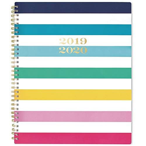Simplified 2019-2020 Academic Year Weekly & Monthly Planner, Large, 8-1/2