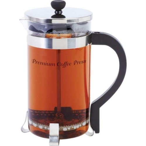 Wyndham KTFRPRS5 House Glass Beaker And Stainless Steel Coffee/Tea Press, 34 oz, NA