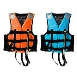 Baosity 2Pcs Adult Child Life Jacket Kayak Canoe Boat Drifting Wakeboard Surf SUP