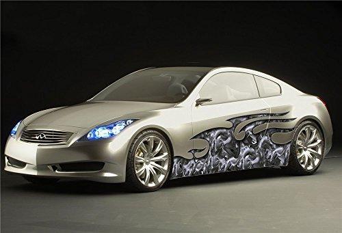ビニールデカール壁画ステッカーフルカラー車グラフィックスケルトンスカルプトラップ0481 B019WIFYYM  - -