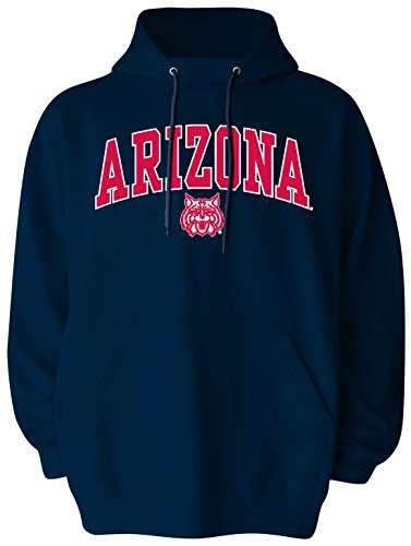NCAA Arizona Wildcats Pullover Hood, Large, (Old Navy Mens Pullover)