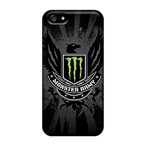 New Arrival Case Cover With AYQ3869vqiR Design For Iphone 5/5s- Monster Army
